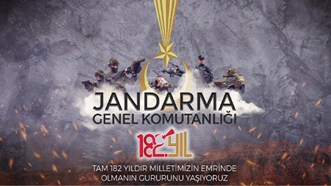 JANDARMAMIZ 182 YAŞINDA...